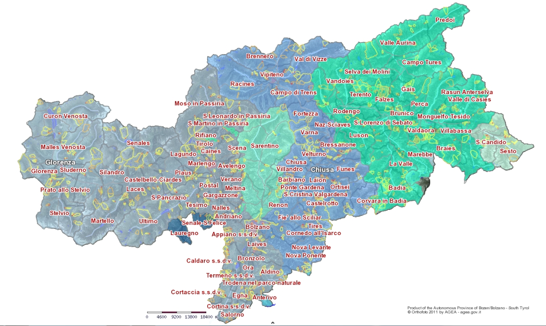 Fiumi Del Trentino Alto Adige Cartina.Qualita Dell Acqua Degli Acquedotti Dell Alto Adige Agenzia Provinciale Per L Ambiente E La Tutela Del Clima Provincia Autonoma Di Bolzano Alto Adige